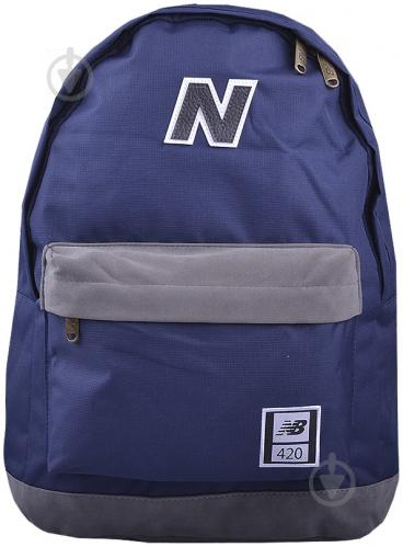 Рюкзак New Balance 420 17 л темно-синий 7612