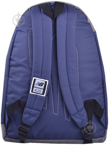 Рюкзак New Balance 420 17 л темно-синий 7612 - фото 2