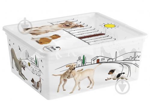 Ящик для зберігання KIS 247181 Pets Collectoin M 18 л 170x400x340 мм - фото 1