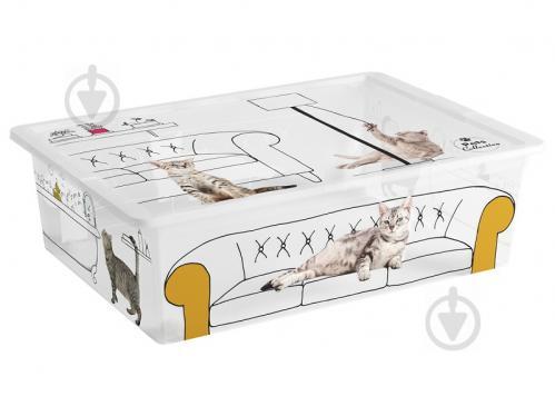 Ящик для зберігання KIS 247279 Pets Collectoin L 27 л 170x550x390 мм - фото 1