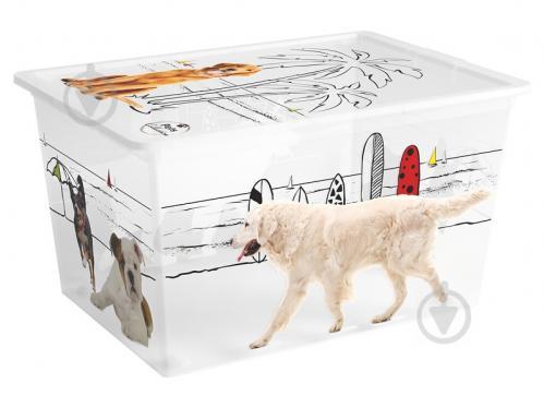 Ящик для зберігання KIS 241602 Pets Collectoin XL 50 л 310x550x390 мм - фото 1