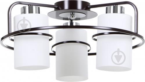 c9f9169f6bf Люстра потолочная Accento lighting Normandia ALPL-PL17108-3 3x60 Вт E27  венге