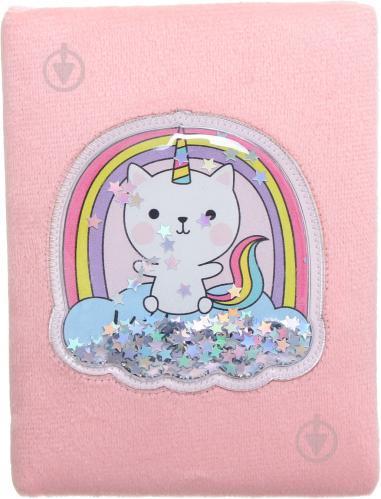 Книга для нотаток Кошеня-Єдиноріг А6 80 аркушів - фото 1