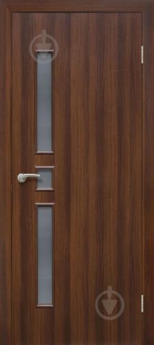 Дверне полотно ПВХ ОМіС Комфорт ЗС 800 мм горіх