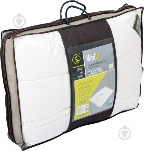 Одеяло шерстяное Wolle 200x220 см Songer und Sohne - фото 3