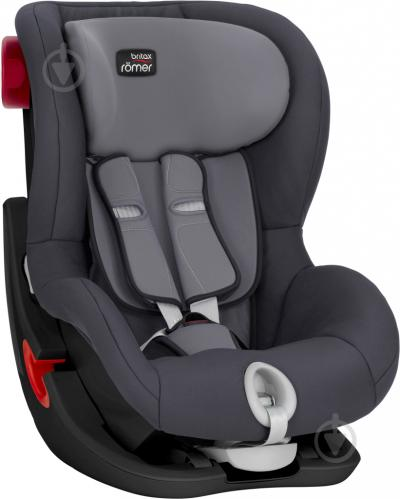 Автокресло Britax-Romer King II Black Series storm gray 2000027559 - фото 3