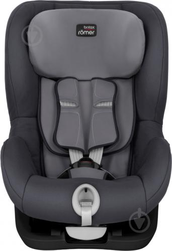 Автокресло Britax-Romer King II Black Series storm gray 2000027559 - фото 2