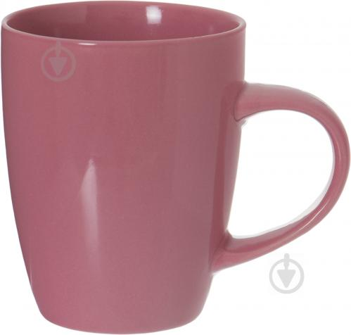 Чашка 330 мл розовая - фото 1