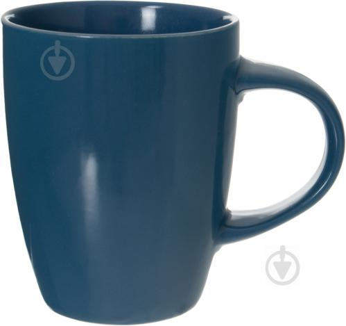 Чашка 330 мл темно-синяя - фото 1