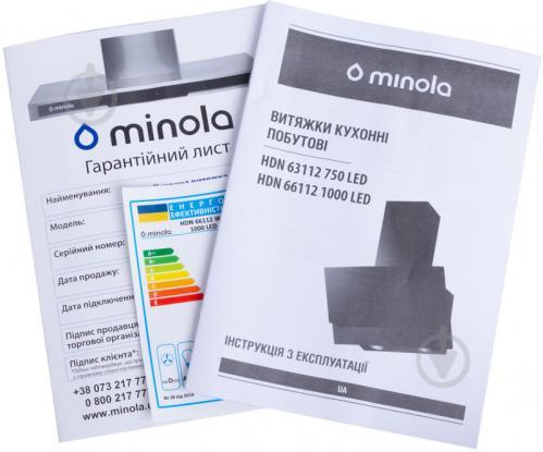 Вытяжка Minola HDN 66112 WH 1000 LED - фото 9