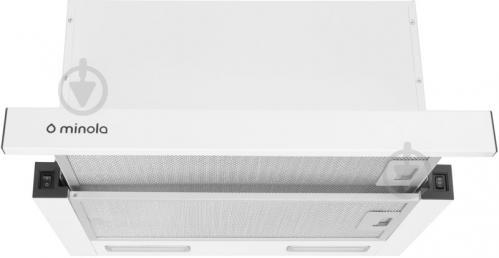 Витяжка Minola HTL 6615 WH 1000 LED - фото 1