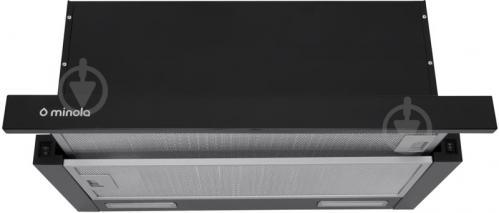 Вытяжка Minola HTL 6615 BL 1000 LED - фото 1