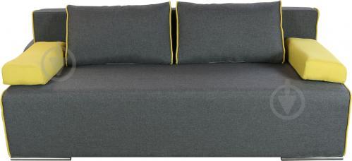 Диван прямий Берегиня Бонус жовтий 1940x910x770 мм - фото 1