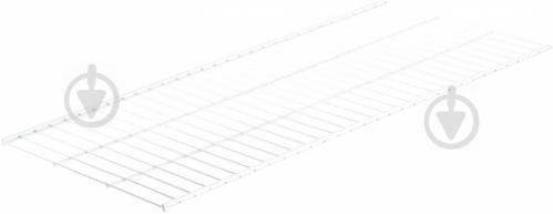 Полка для гардеробной системы Kolchuga 906x406 мм белый - фото 1