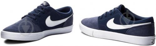 Кроссовки Nike SB PORTMORE II SOLAR 880266-410 р. 10 синий - фото 6