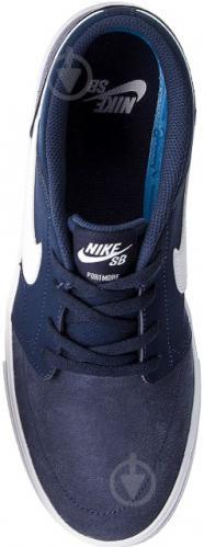 Кроссовки Nike SB PORTMORE II SOLAR 880266-410 р. 10 синий - фото 3