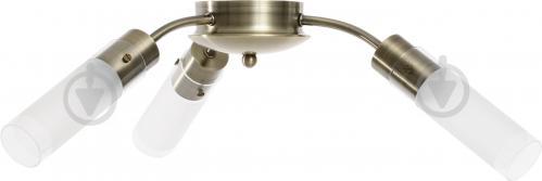 Люстра стельова Accento lighting Sakura 3x40 Вт E14 антична латунь ALHL-6310/3-AB - фото 2