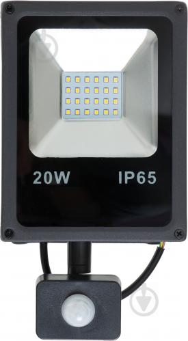 Прожектор DDH 20S 20 Вт IP65 чорний 17320