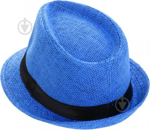 ᐉ Капелюх молодіжний Deluxe синій р. one size синій • Краща ціна в ... 45ec6856c3fd9