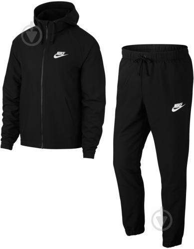 369b6087 ᐉ Костюм Nike M NSW TRK SUIT HD WVN 861772-013 р. L черный • Купить ...