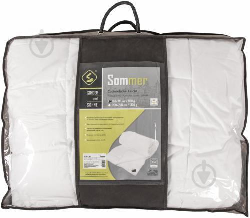 Одеяло хлопковое Sommer 155x215 см Songer und Sohne - фото 3