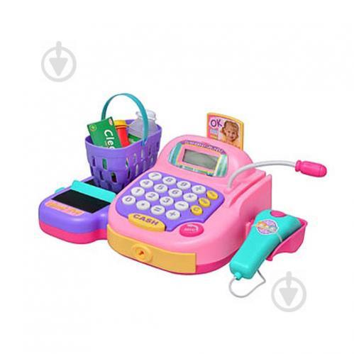 Игровой набор Кассовый аппарат Keenway 30241-2 Розовый (int_30241-2) - фото 1
