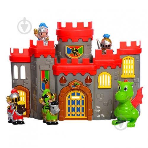 Игровой набор Замок Keenway 10566 39 x 29 x 8 см Разноцветный (int_10566) - фото 1