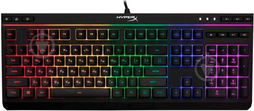 Клавіатура ігрова HyperX Alloy Core RGB (HX-KB5ME2-RU) black - фото 1