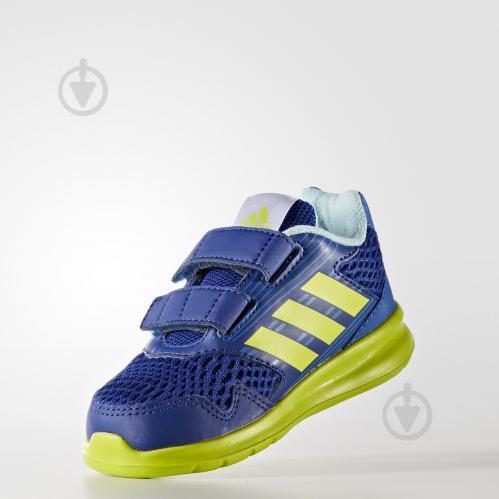 Кроссовки Adidas AltaRun CF I CQ2458 р.27 синий - фото 4