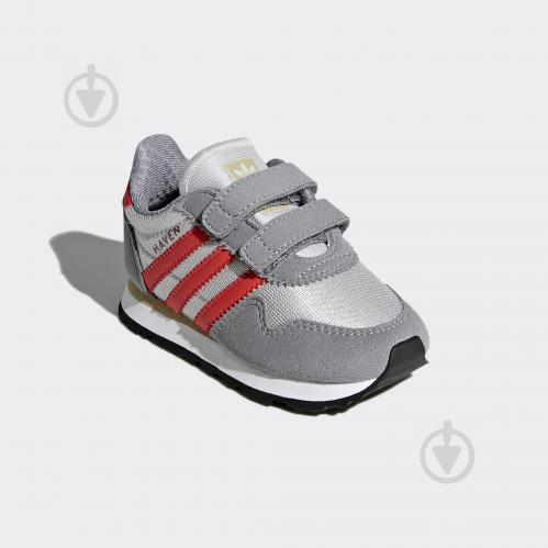 Кроссовки Adidas HAVEN CF I CQ3153 р.24 серый - фото 4