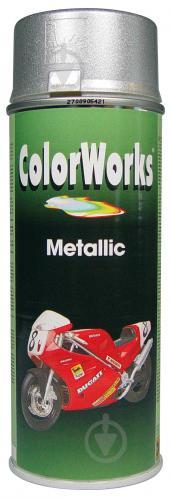 Эмаль аэрозольная Metallic ColorWorks серебряный 400 мл