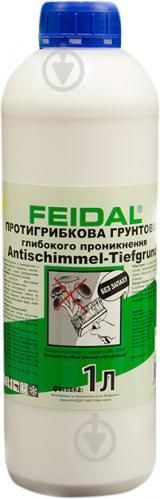 Грунтовка фунгицидная Feidal Antischimmel-Tiefgrund противогрибковая 1 л
