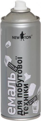 Эмаль аэрозольная для бытовой техники New Ton белый глянец 400 мл - фото 2