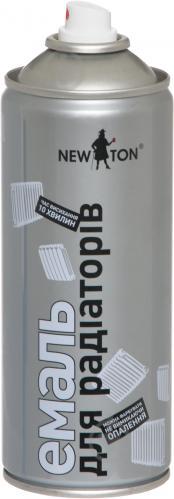 Емаль аерозольна для радіаторів New Ton білий 400 мл - фото 2