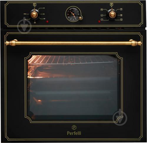 Духова шафа Perfelli BOE 6644 BL RETRO - фото 2