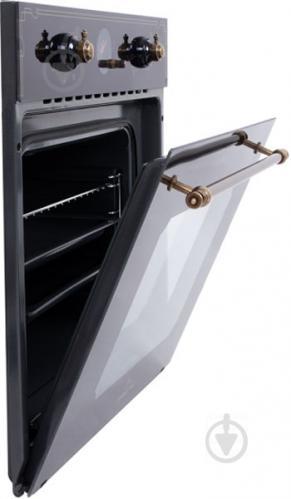 Духовой шкаф Perfelli BOE 6645 BL ANTIQUE GLASS - фото 3