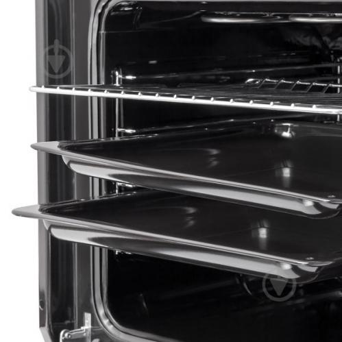 Духовой шкаф Perfelli BOE 6645 BL ANTIQUE GLASS - фото 5