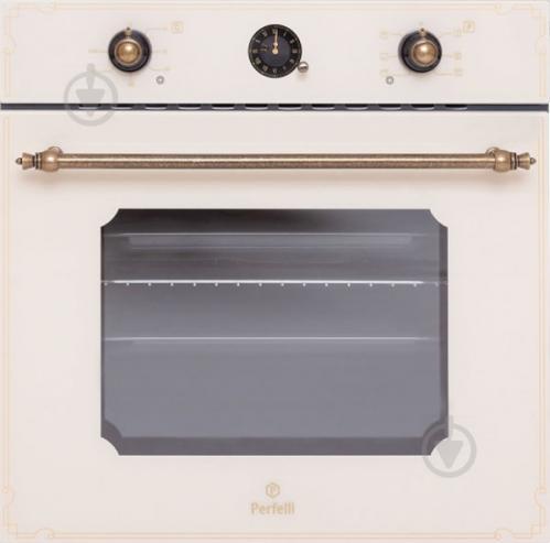 Духовой шкаф Perfelli BOE 6645 IV ANTIQUE GLASS - фото 1