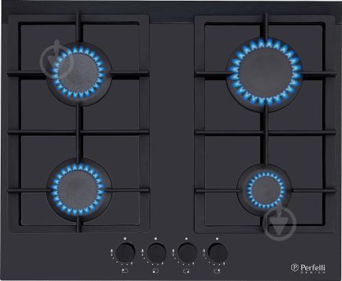 Варильна поверхня Perfelli Design HGV 6430 NERO Venere - фото 1