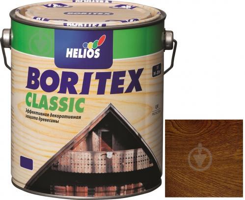 Лазур Helios Boritex Classic 4 горіх мат 0,75 л - фото 1