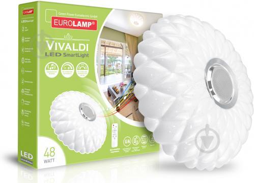 Світильник світлодіодний Eurolamp Smart Light Vivaldi музичний із пультом ДК 48 Вт білий 3000-6000 К - фото 2