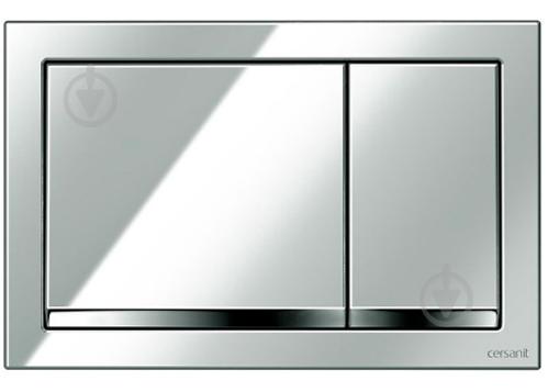 Панель смыва Cersanit ENTER хром - фото 1