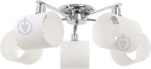 Світильник стельовий Accento lighting ALKK-GH96360-5 5x40 Вт E14 хром