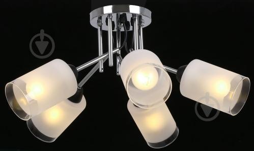 Світильник стельовий Accento lighting ALKK-GH35212-5 5x60 Вт E27 хром - фото 4