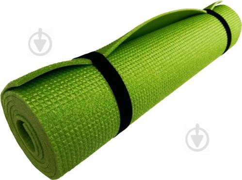 Коврик для фитнеса Verdani 1500x500x05 мм зеленый - фото 1