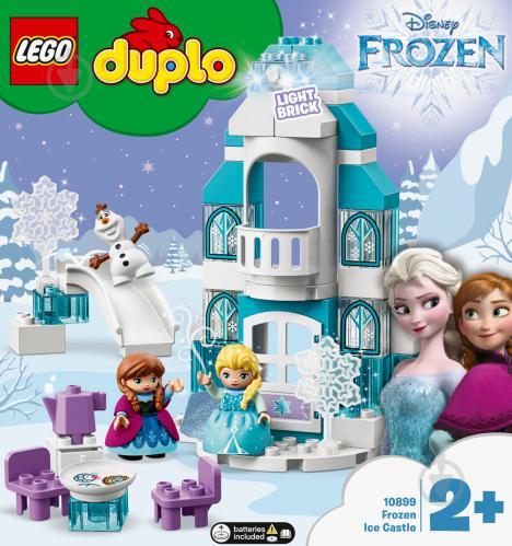 Конструктор LEGO Duplo Крижаний замок 10899 - фото 2