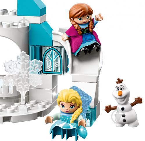 Конструктор LEGO Duplo Крижаний замок 10899 - фото 8