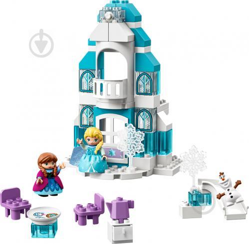 Конструктор LEGO Duplo Крижаний замок 10899 - фото 6