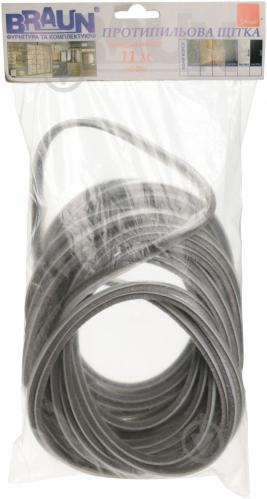 Пылезащитная щетка короткий ворс Schlegel 11 м 7,9x6 мм серый - фото 3