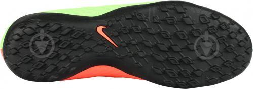 Футбольные бутсы Nike HypervenomX Phelon III TF 852562-308 р. 9.5 зеленый - фото 6